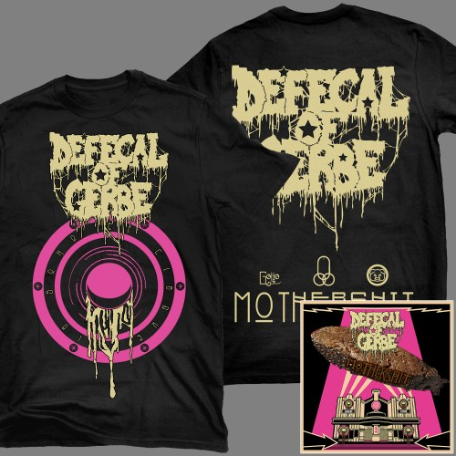 "DEFECAL OF GERBE ""Mothershit"" 2x Digi-CD + T-SHIRT / GIRLY"