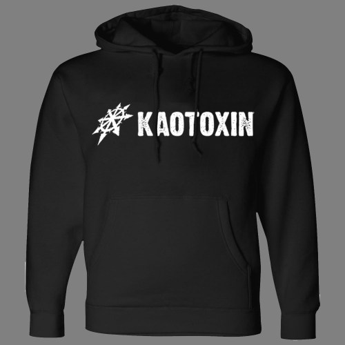 "KAOTOXIN ""Old-School Logo"" HOODED SWEAT SHIRT"