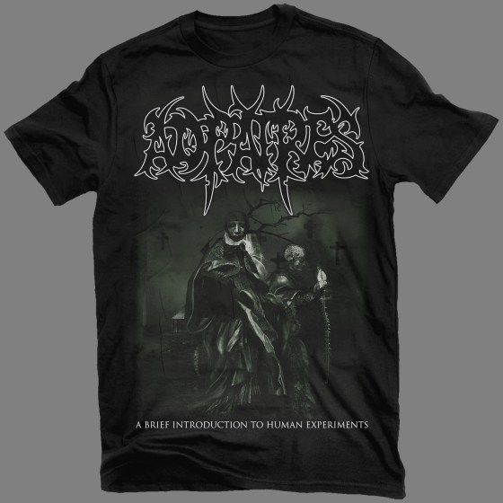 """AD PATRES """"A Brief Introduction to Human Experiments"""" T-SHIRT / GIRLY"""