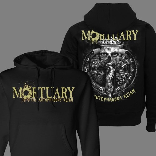 "MORTUARY ""The Autophagous Reign"" HOODIE"