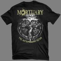 """MORTUARY """"The Autophagous Reign"""" T-SHIRT"""