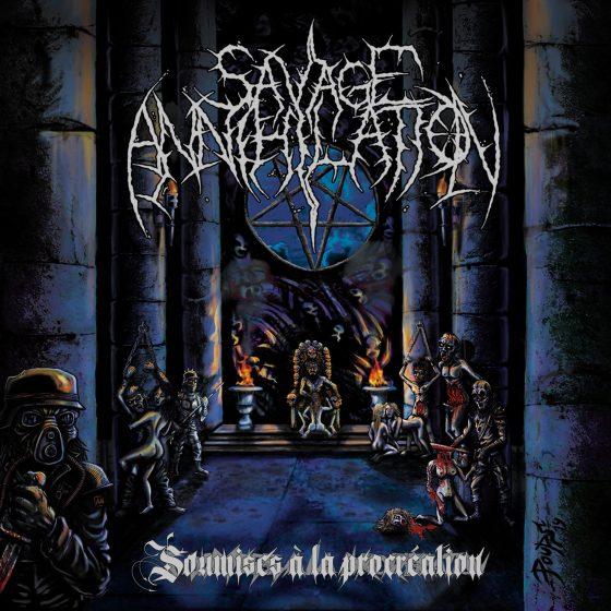 """SAVAGE ANNIHILATION """"Soumises à la procréation"""" [XKR028]"""