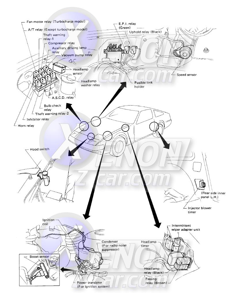 1986 300z Electrical Diagram