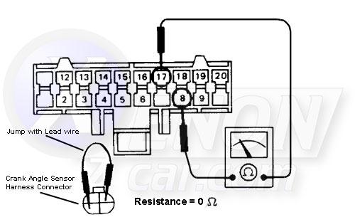 XenonZcar.com Z31 Z31 Crank Angle Sensor
