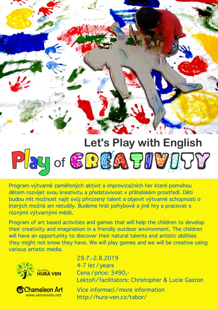 Play of Creativity - Chameleon Art / xenovision