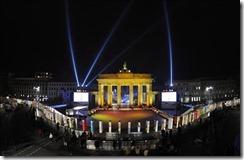 """Celebran en Berlín la caída del """"Muro de la Vergüenza"""""""