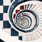Fotografía: Escaleras de caracol.