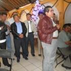 Se reúne edil con autoridades de agencias municipales y de policía de Huajuapan