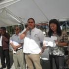 Entrega Gobierno del Estado tarjetas Bienestar a personas con Capacidades Diferentes en Huajuapan