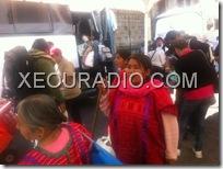 Realizarán desplazados marcha caminata de Tlaxiaco a Oaxaca, retornarán al zócalo