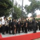 Prevén presentación de la banda de música José López Alavés en E.U