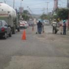 Inicia bacheo en boulevard Tierra del Sol