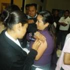 Registra 82% aplicación de vacuna Antiinfluenza en la Mixteca