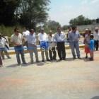 Inauguran puente en Río Salado