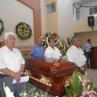 Se Rindió un homenaje de cuerpo presente a Efraín Arturo López Alvarado