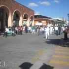 Normalistas se manifestaron en contra del desalojo de la CNTE