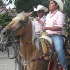 Realizan cabalgata por los 193 años de independencia de Oaxaca