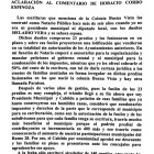 Documento aclaratorio