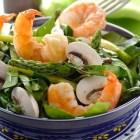 Receta del día; Ensalada de espinaca y camarón