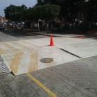 Modificarán tope ubicado frente al Palacio Municipal