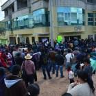 Toman padres y maestros oficinas de CFE en Chalcatongo