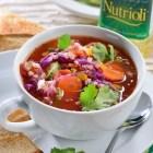 Receta del día; Sopa de cebada y vegetales