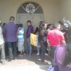 Taxistas de la ONPL se manifiestan en Huajuapan