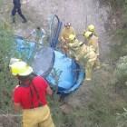 Volcadura deja siete lesionados en desviación a Tezoatlán