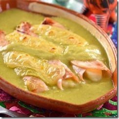 Enchiladas de pechuga de pavo