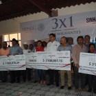 Entrega Sedesol, más de 8 millones a cinco municipios de la Mixteca,