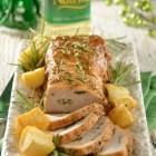 Receta del día; Lomo de cerdo al romero