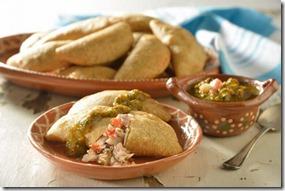 Empanadas de huachinango