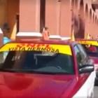 Se plantan taxistas de la ONPL en palacio de Huajuapan