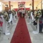 Celebran bodas colectivas; se da certeza legal a 140 parejas