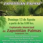 Conmemorarán Día Internacional de los Pueblos Indígenas en Zapotitlán Palmas