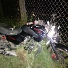 SEGURIDAD PÚBLICA: Muere motociclista al impactarse contra malla