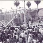 Conmemoran 37 aniversario del sismo de Huajuapan