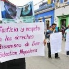 Mujeres de Nopalera protestan sin respuestas en la Ciudad de Oaxaca