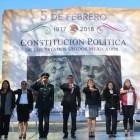 Conmemoran CI aniversario de la promulgación de la Constitución Mexicana