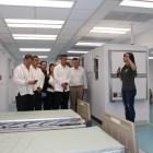 Fundación estadounidense instala hospital móvil en Huajuapan