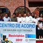 Recolectan 20 toneladas de basura electrónica en la Mixteca