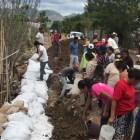 Solicitarán declaratoria de emergencia por afectaciones provocadas por la lluvia en Huajuapan