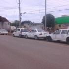 Taxistas del FNIC bloquearon acceso a trabajos de nueva tienda departamental