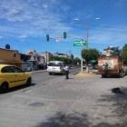 Ponen en marcha semáforo en 5 de Febrero