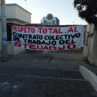Por huelga del STEUABJO se retrasa inicio de clases en Prepa 3