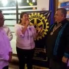 Nombran socia honoraria a edil de Huajaupan en Club Rotario de Huajuapan