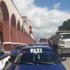 Integrantes de Confederación Libertad – CTH bloquean calles y toman oficinas municipales