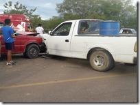 Accidente en carretera a Mariscala