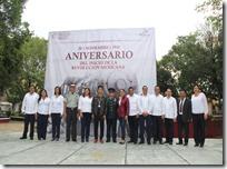 Conmemoran 109 aniversario de la Revolución Mexicana en el municipio