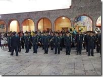 Cautivó Banda Filarmónica del Ejercito Mexicano los corazones huajuapeños